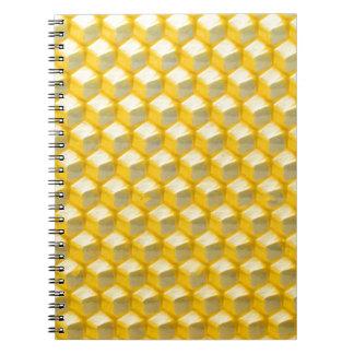 Honeycomb Spiral Notebooks