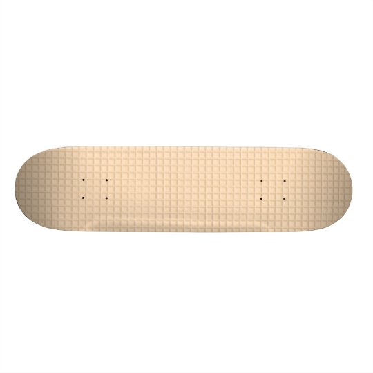 Honeycomb Orange Skateboard