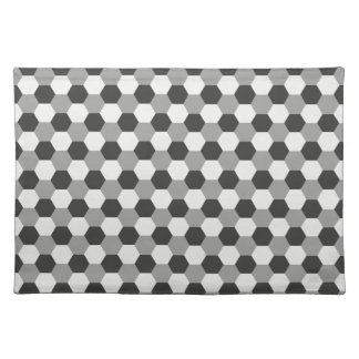 Honeycomb pattern cloth placemat
