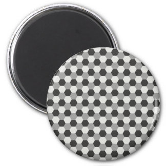 Honeycomb pattern magnet