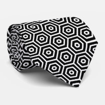 Honeycomb Pattern Tie