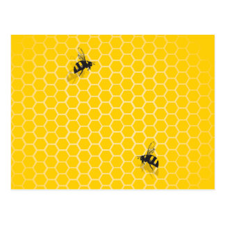 Honeycomb Postcard