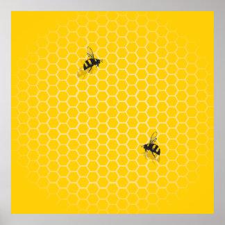 Honeycomb Print