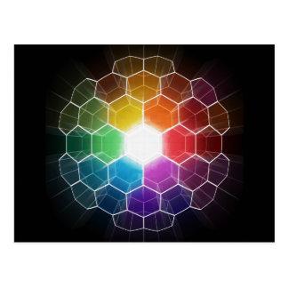 Honeycomb Spectrum Postcard