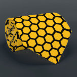 "Honeycomb Tie<br><div class=""desc"">Honeycomb Tie designed by fantasy illustrator Anna Repp</div>"