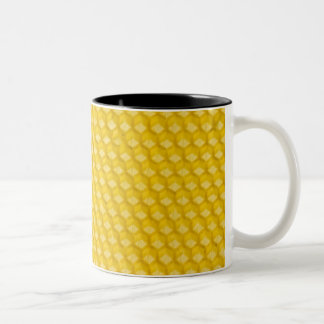 Honeycomb Two-Tone Coffee Mug