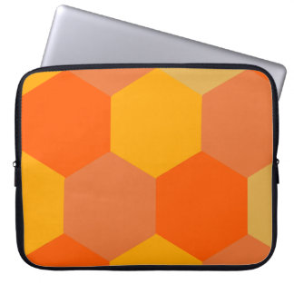 Honeycomb warm color type personal computer case computer sleeve