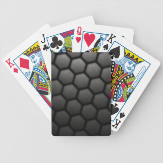 Honeycomb With Small Mesh Texture Playing Cards