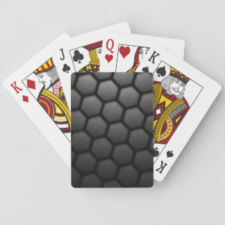 Honeycomb With Small Mesh Texture Poker Cards