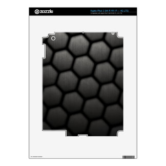 Honeycomb With Small Mesh Texture Decals For iPad 3