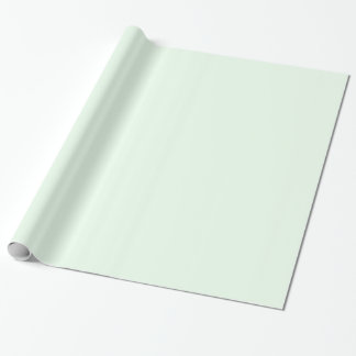 Honeydew Light Green Solid Trend Color Background Gift Wrap Paper