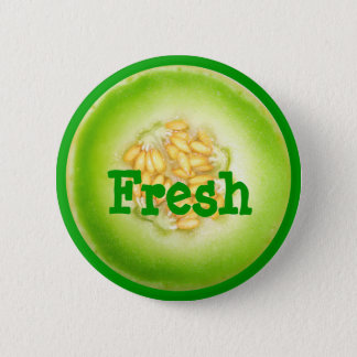 Honeydew Melon Button