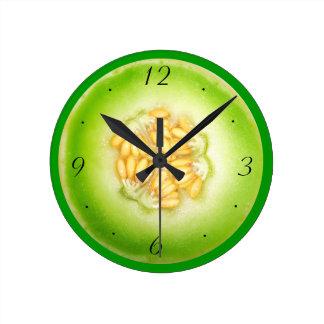 Honeydew Melon Clock