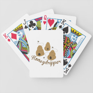 Honeydripper Bicycle Playing Cards