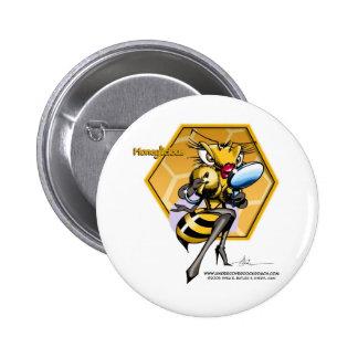 HONEYLICIOUS Honeycomb Button