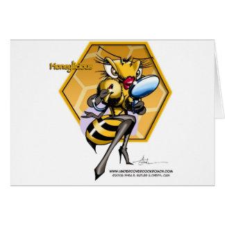 HONEYLICIOUS Honeycomb Greeting Card
