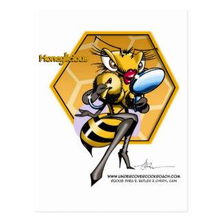 HONEYLICIOUS Honeycomb Postcard