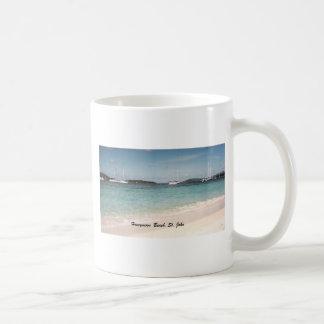 Honeymoon Beach, St. John Coffee Mug