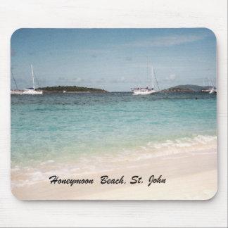 Honeymoon Beach, St. John Mouse Pad