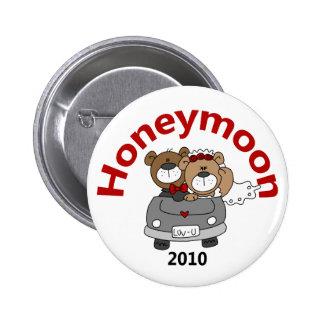 Honeymoon Bears 2010 Pinback Buttons