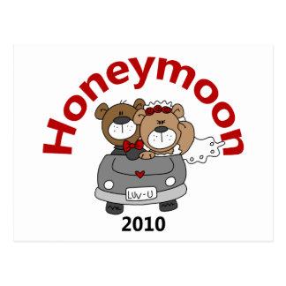 Honeymoon Bears 2010 Postcard