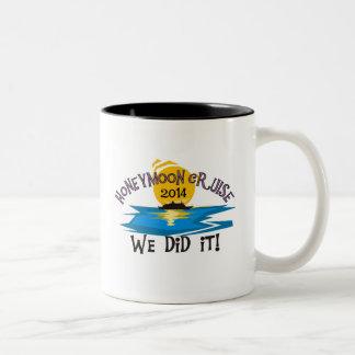 Honeymoon Cruise 2014 Coffee Mugs