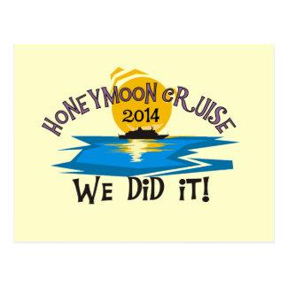 Honeymoon Cruise 2014 Postcard