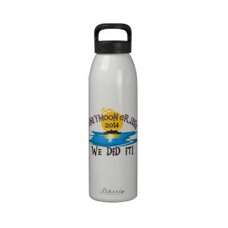Honeymoon Cruise 2014 Drinking Bottle