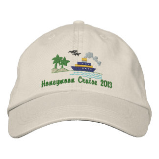 Honeymoon Cruise Customizable Hat