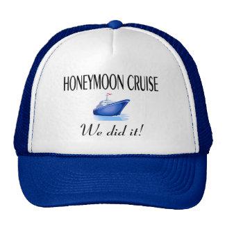 Honeymoon Cruise Mesh Hat