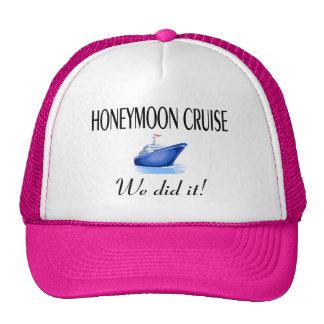 Honeymoon Cruise Mesh Hats