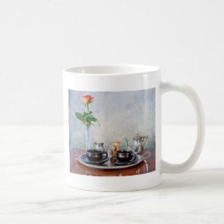 Honeymoon espresso, vintage espresso for two mug