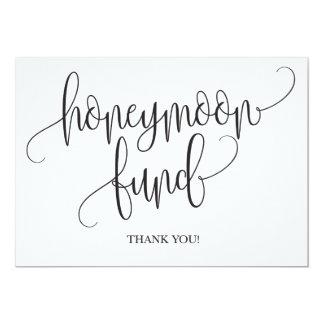 Honeymoon Fund Wedding Sign Card
