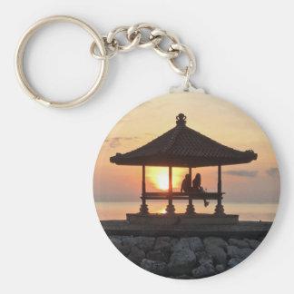 Honeymoon in Bali Keychain