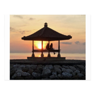 Honeymoon in Bali Postcard