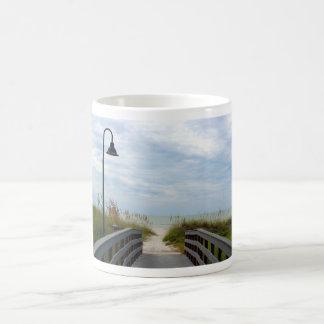 Honeymoon island beach mug