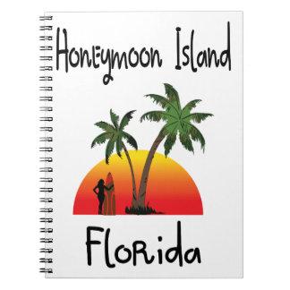 Honeymoon Island Florida. Notebook