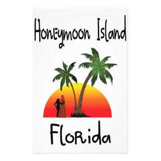 Honeymoon Island Florida. Stationery