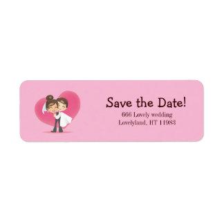 Honeymoon Love Label