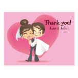 Honeymoon Love Postcards