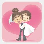 Honeymoon Love Stickers