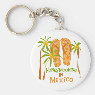 Honeymoon Mexico Tshirts and Gifts Keychain