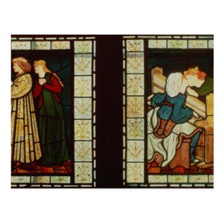 Honeymoon of King Rene of Anjou Postcard