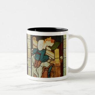Honeymoon of King Rene of Anjou Two-Tone Coffee Mug