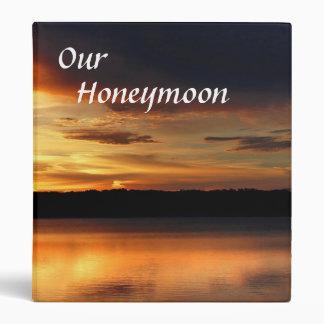 Honeymoon Photo Album 3 Ring Binder
