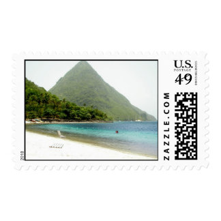 Honeymoon, St Lucia Stamp