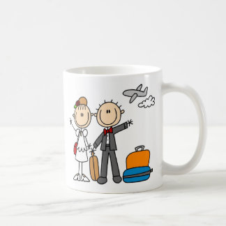 Honeymoon Time For The Bride And Groom Mug