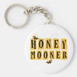 Honeymooner Bee Keychains