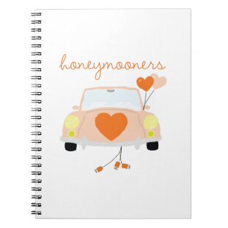 Honeymooners Spiral Notebook