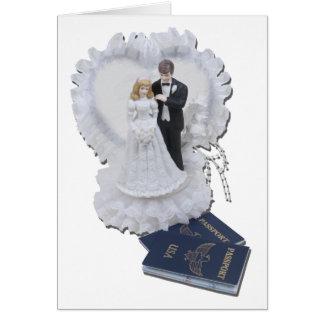 HoneymoonersPassports012511 Tarjeta De Felicitación